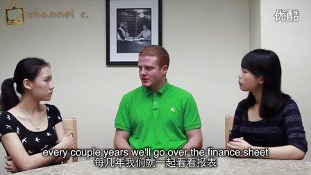 留学生讨论中美家庭理财教育