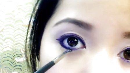 化妆美容达人MichellePhan脸部紫雾系列教程