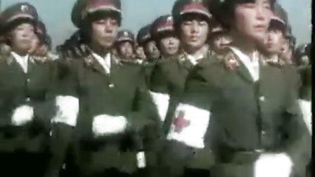 建国35周年国庆阅兵全程回顾