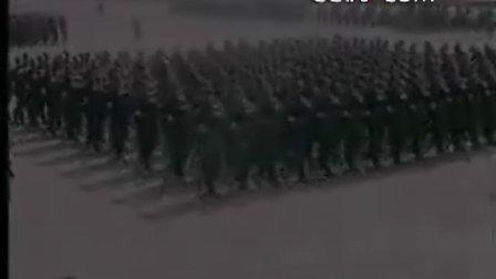 1957年10月1日国庆阅兵视频