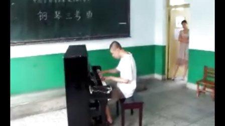 智障钢琴神童十级考试