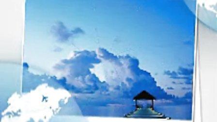 震撼心灵的美丽海岛图片和经典的怀旧歌曲!