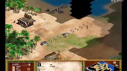 帝国时代2 江西杯3比赛_JX_坏男孩vs_EMA_小林