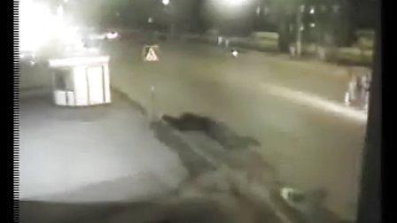 悲惨的交通事故(膽小勿入)