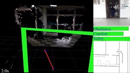 基于3D语义地图的智能轮椅共享控制