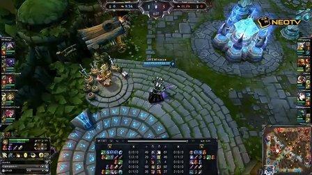 三星WCG2013中国区总决赛1013 LOL 决赛 WE VS OMG1