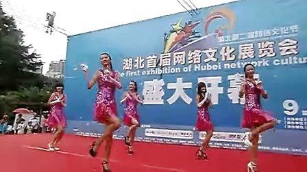 女孩NOBODY舞蹈表演——2010湖北首届网络文化展览会舞台演出!