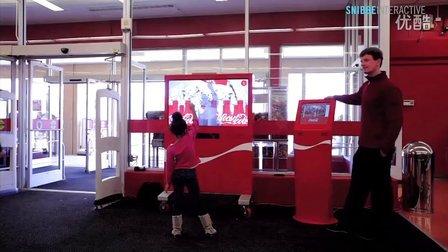 Kinect用于可口可乐交互 用户分享交互视频达到广告目的