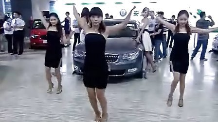 女孩NOBODY舞蹈表演——2010武汉车展——上海大众斯柯达展台文艺演出!