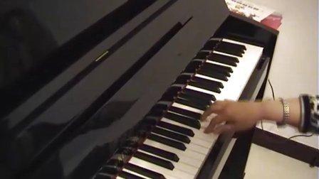 钢琴右手弹旋律