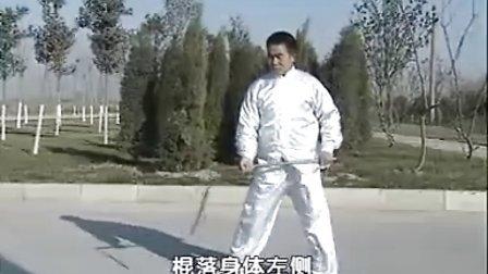 汤瓶七式拳实战教学(时振刚时晓武)B梢子铁棍实战