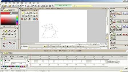 TVP Animation动画教学——上色