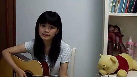 吉他弹唱《玻璃杯》Cover by 白桦树娃娃