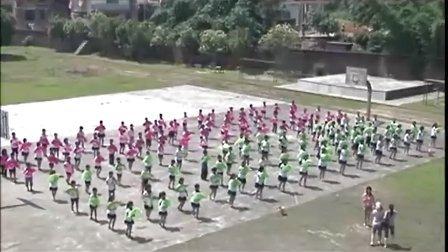 校园集体舞《采茶灯》苏坂中心小学2