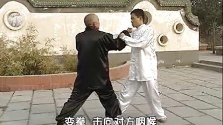 汤瓶七式拳实战教学(时振刚时晓武)A七趟实用功架