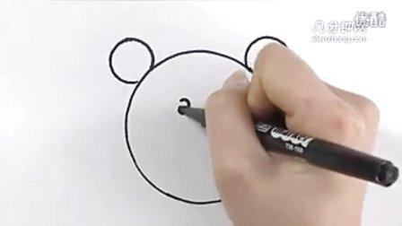 圆形简笔画之松鼠--三森()儿童涂鸦