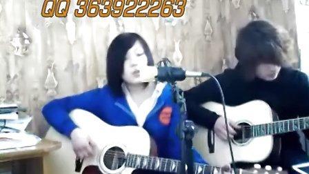 双吉他弹唱 张靓颖《画心》  果木浪子 樱花