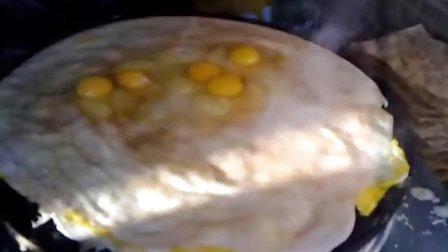 富二代买煎饼:10个鸡蛋加大火腿 煎饼师傅愁了
