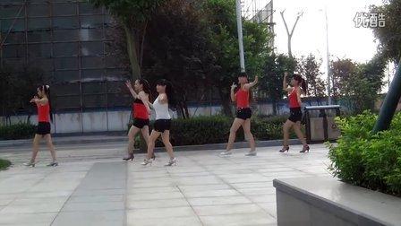 嫣红广场舞-恰恰-向太阳