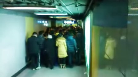 北京地铁2号线丧尸狂潮