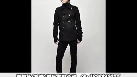 黑蝠社2011新款双排扣休闲中长款男士风衣大衣呢子大衣纯色西装领韩版时尚男装冬装 加厚长款外套别致配
