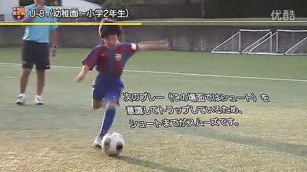 巴萨青训营日本福冈分校训练教学视频