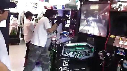 真人游戲廳打槍入戲神同步