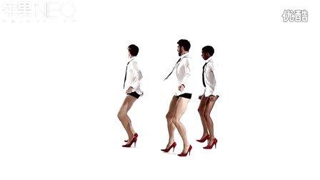 美国妖男组合红色高跟鞋跳热舞