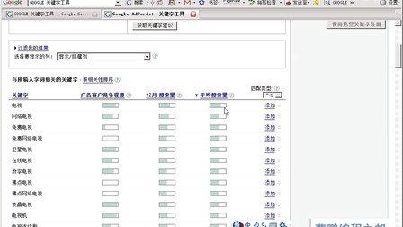 5.1 google 关键词工具  - 曹鹏SEO教程
