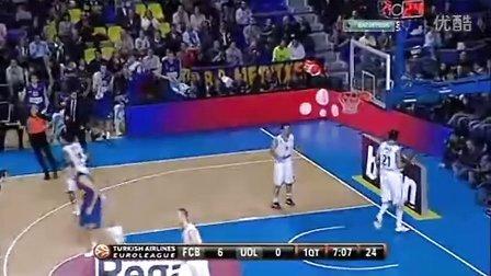 2011-2012赛季欧洲篮球冠军联赛小组赛(精选场)西班牙马拉加VS帕纳辛纳科斯全场比赛
