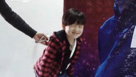 【拍客】达人秀走红萌娃侯宝宝 梦想参加央视春晚