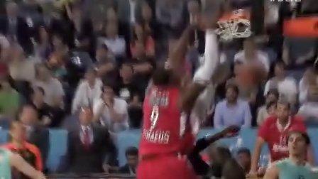 1112赛季欧洲篮球冠军联赛半决赛-精彩集锦