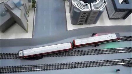 北京地铁2号线教学仿真沙盘