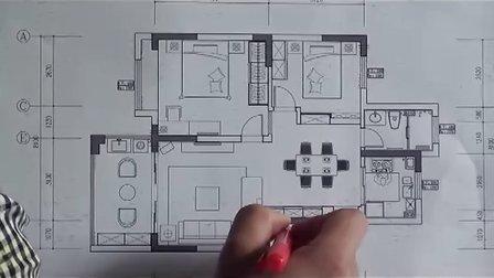 托乐嘉花园92平米视频户型图解析