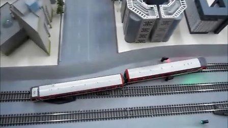 北京地铁2号线模拟调度沙盘