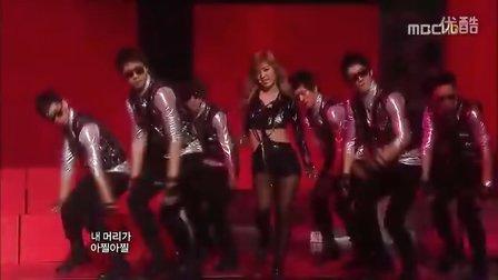 【志润】T-ara 为你疯狂 MBC音乐中心现场版 100320