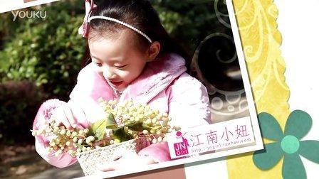 江南小妞2012秋冬新款童装女童羽绒服