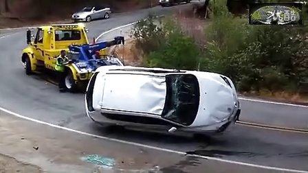 实拍:车祸现场没救了!女司机哭了...