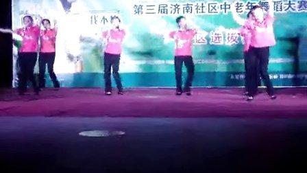金龙鱼玉米油中老年广场舞比赛视频