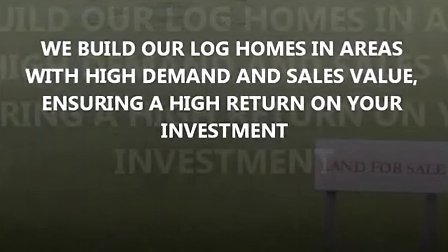 Legacy Log Homes - Looking for Investors
