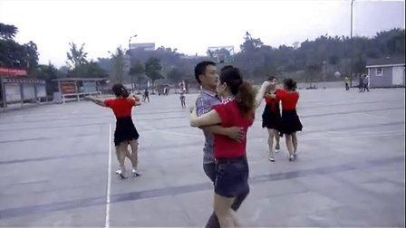 兴隆玫瑰田园广场舞-黄玫瑰-三步交谊舞