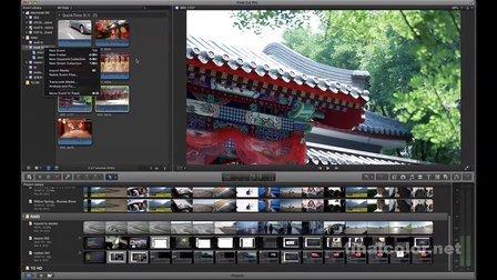 苹果剪辑final cut pro x 10.0.7 专业高级视频教程lesson 003