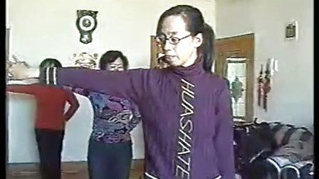 知青之家北斗群舞蹈排练