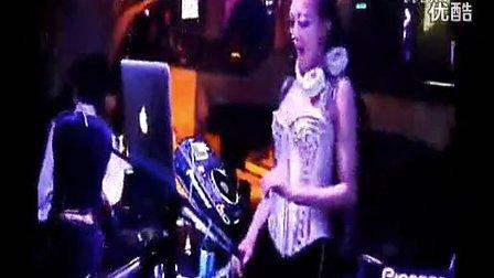 DJ小S李董给客户制作 酒吧首席性感美女DJ LISA打碟