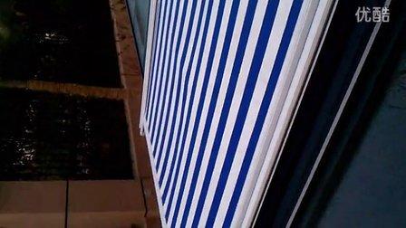 浙江动力源智能遮阳窗饰 电动天幕遮阳雨棚阳光房玻璃顶遮阳棚