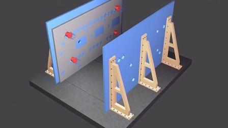 机械产品三维模型动画--焊接装配工艺