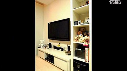 交换空间悠闲单身公寓 简约宜家风一居小户型装修效果图 标清