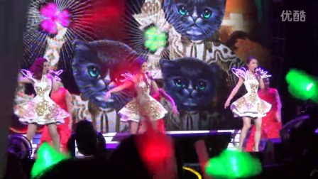 20140531-S.H.E武汉演唱会之波斯猫(不正经喵喵版)