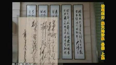 《中华墨迹》栏目 主持人兰婷专访当代著名书法家岳崇
