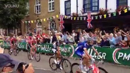 英国爱萍镇环法自行车赛